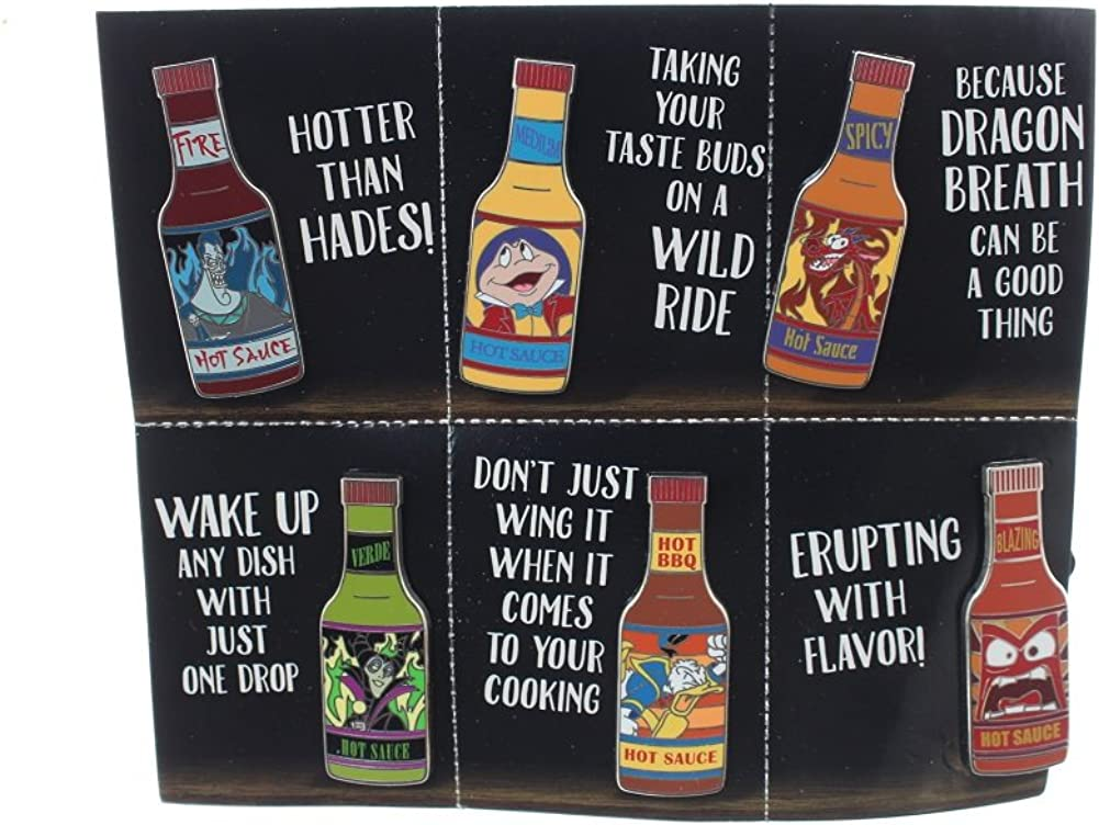 Max 66% OFF Disney Hot Sauce 6 Be super welcome Booster Pin Set
