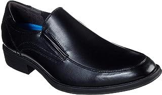 SKECHERS Larken, Men's Oxfords Shoes, Black, 42 EU