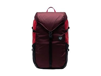 Herschel Supply Co. Barlow Large (Plum/Red/Black) Backpack Bags