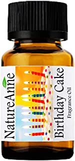 Birthday cake Premium Grade Fragrance Oil - 10ml - Scented Oil - for Diffuser Oils, Making Soap, Candles, Lotion, Home Sce...
