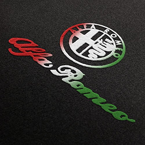 Fußmatten aus Nadelfilz mit Druck Logo+Schrift Q100_ALFA-L+S-ITA_Alfa_003