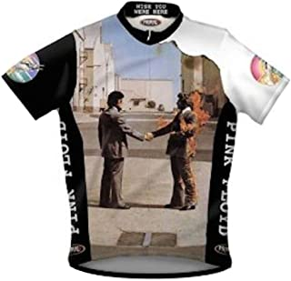 Primal Wear Pink Floyd Wish You were Here Cycling Jersey Men's Short Sleeve