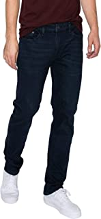 RING OF FIRE Men's Five Pockets Straight Denim Stretch Jeans
