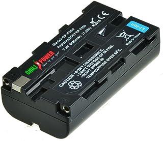 ChiliPower Sony NP-F330 NP-F530 NP-F550 NP-F570 Batería (2400mAh) para Sony CCD-RV100 CCD-RV200 CCD-SC5 CCD-SC6 CCD-SC55 CCD-SC65 CCD-TRV66 CCD-TRV67 DCM-M1 DCR-SC100 DCR-TR7 DSC-CD250 DSC-CD400 DSC-D700 DSC-D770 D-V500 EVO-250 GV-A100 GV-A500 HDR-AX2000 HDR-FX7 HDR-FX1000 HVR-M10P HVR-M10U HVR-V1J HVR-V1U HVR-Z7U HXR-NX5U