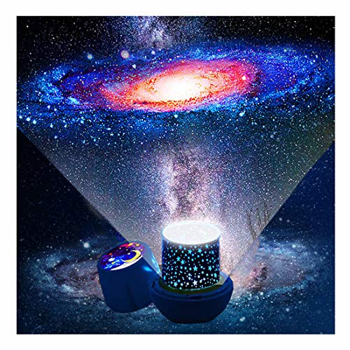 Kids Night Light Projector - Star Light Projector with USB Cable, 360 Degree Rotation Kids Star Projector Lamp Bedroom Star Projector Night Light Best Gifts for Kids - 7 Sets of Film