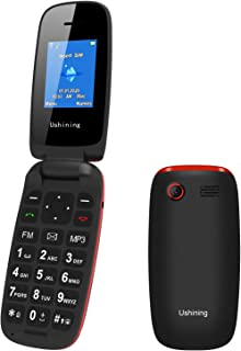 Ushining Unlocked Flip Phone 3G T Mobile Flip Phone Unlocked Big Icon Easy to Use Flip BasicCell Phones Unlocked for Kids ...