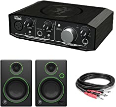 Mackie Onyx Artist 1-2 Audio Interface with Mackie CR3 3