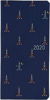 Hobonichi Techo Weeks - Bow & Tie: Tokyo Tower (Japanese/Wallet-Size/Jan 2020 Start)