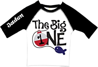 e7e07853c Baby/The Big ONE - Personalization optional Raglan T shirts, 3/4 sleeve