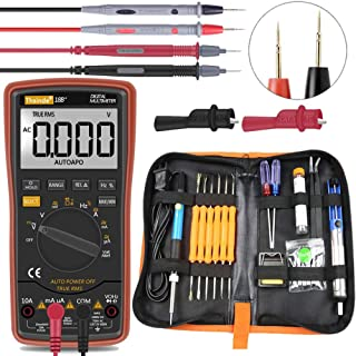 Auto Ranging Digital Multimeter for AC/DC Voltage AC/DC Current Amp/Ohm/Volt Multi Tester/Diode, Soldering Iron Kit 60W 11...