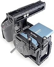 MAGICRIG BMPCC 4K Cage with NATO Handle + T5 SSD Card Mount Clamp for Blackmagic Pocket Cinema Camera BMPCC 4K