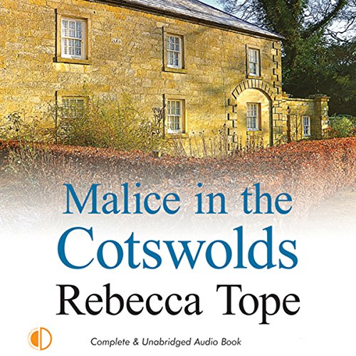 Malice in the Cotswolds audiobook cover art