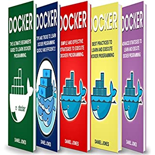 Docker: 5 Books in 1 cover art