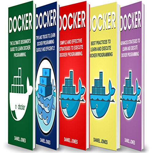 Docker: 5 Books in 1 Titelbild