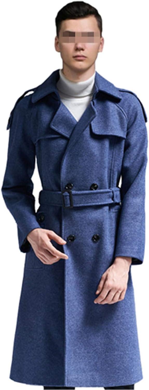 Tealun Men Woolen Coat Jackets and Coats Casual Mens Wool Blend Jackets Full Winter for Men Coat