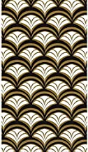 Gold Scallop Guest Paper Towels