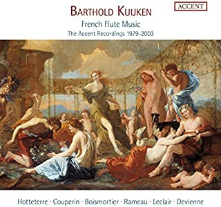French Flute Music: The Accent Recordings 1979-2003 by Barthold Kuijken [transverse flute] (2015-10-14)