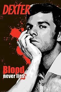 Culturenik Dexter Blood Never Lies (Corpse Arm) Horror Drama TV Television Show Poster Print 24x36