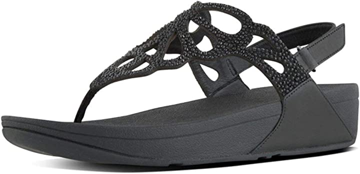 Infradito donna fitflop bumble crystal tm sandal B06XPFLRHG