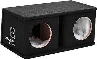 """Sponsored Ad - Skar Audio SK2X8V Dual 8"""" Universal Fit Ported Subwoofer Enclosure photo"""