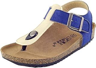 Majony Durable Fashion Boy's Girl's Adventure Flip Flops Sandals (Toddler/Little Kid/Big Kid)