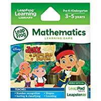 LeapFrog Explorer Game: Disney Jake and the Never Land Pirates (for LeapPad and Leapster)