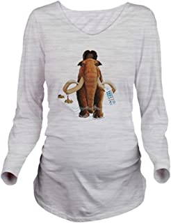 Ice Age Pretend Long Sleeve Maternity Tee