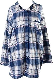 Alfani Scoop-Neck Pajama Top XXXLarge Trad Blue Heather