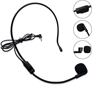 Zoweetek Flexible Wired Microphone with 3.5mm Audio Plug for Voice Amplifier and AUX Audio Device (SDMIC03)