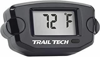 Trail Tech 742-ET1 Black TTO Temperature Digital Gauge 10mm CHT Spark Plug Sensor