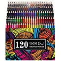 120-Pack Wanshui Premium Soft Core Colored Pencils