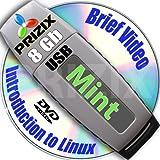 mint cinnamon 17 sulla 8gb usb flash e completa a 3 dischi dvd di installazione e set di riferimento, a 32 e 64 bit