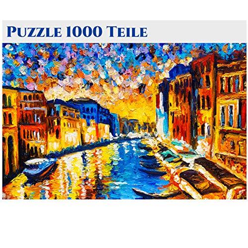 Puzzle 1000 Teile für Erwachsene - Holzpuzzle Naturlandschaft Wanddekoration 1000 Teile Puzzle Puzzle Erwachsene 1000 Teile Puzzle 1000 Teile Tiere, Puzzle Blumen 1000 Teile 70x50cm-11