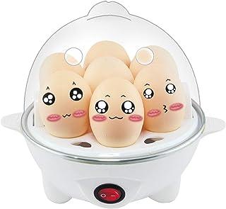 Ewendy Cuiseur à Oeufs Rapide 7Slots pour Les œufs durs Œufs pochés Oeufs brouillés-Rapide ET FACILE-350W