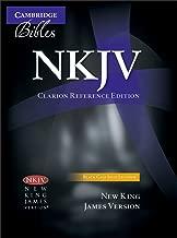 NKJV Clarion Reference Bible, Black Calf Split Leather, NK484:X