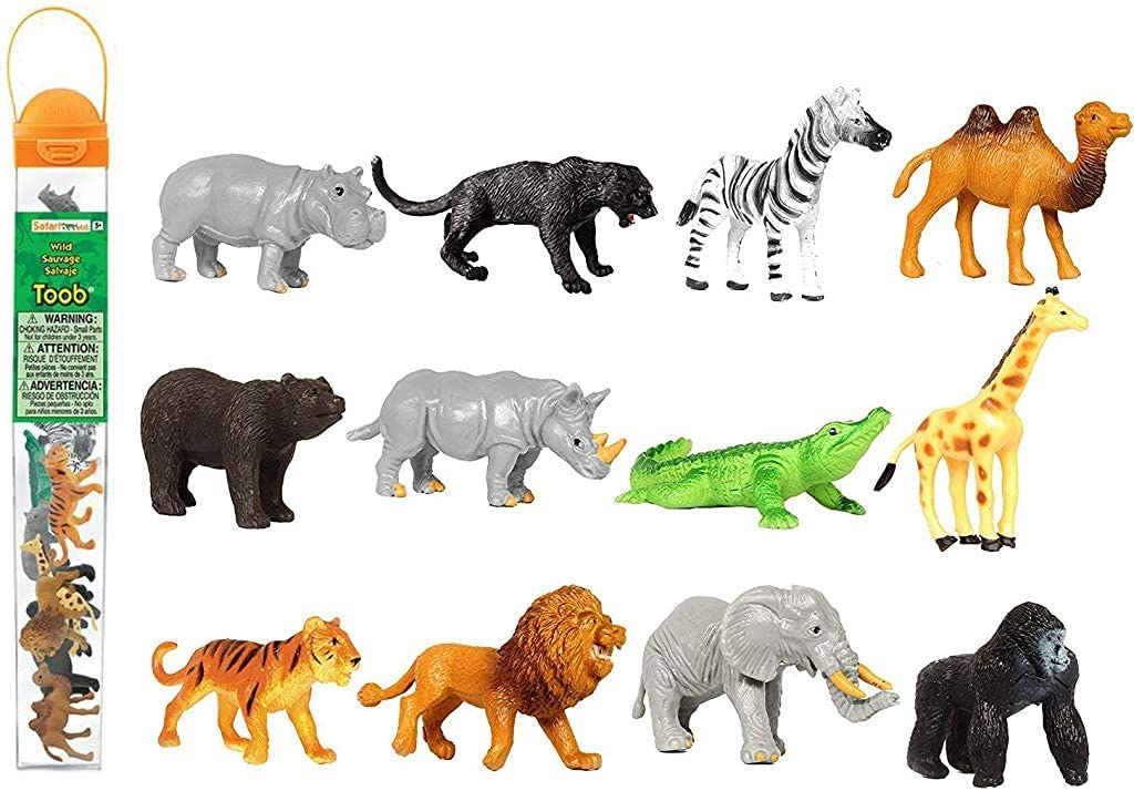 Safari Ltd Department store Wild TOOB With 12 Great Friends Import G Jungle a Including