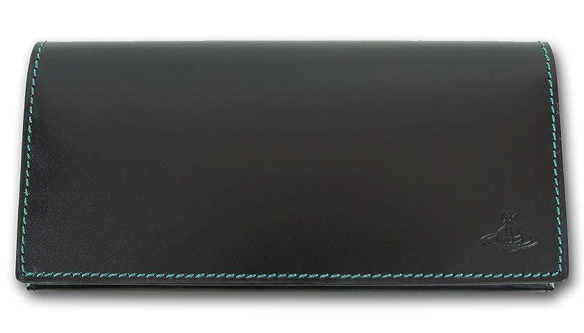 定常回転する感謝する(ヴィヴィアンウエストウッド) Vivienne Westwood 牛革 長財布 アーガイル メンズ ブラック 黒