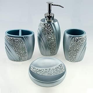 mosaic bath accessories