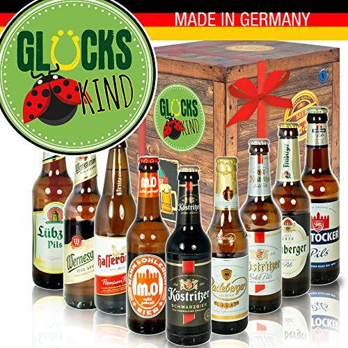 Glückskind - mit Bieren aus Ostdeutschland - Glückskind Geschenk Idee