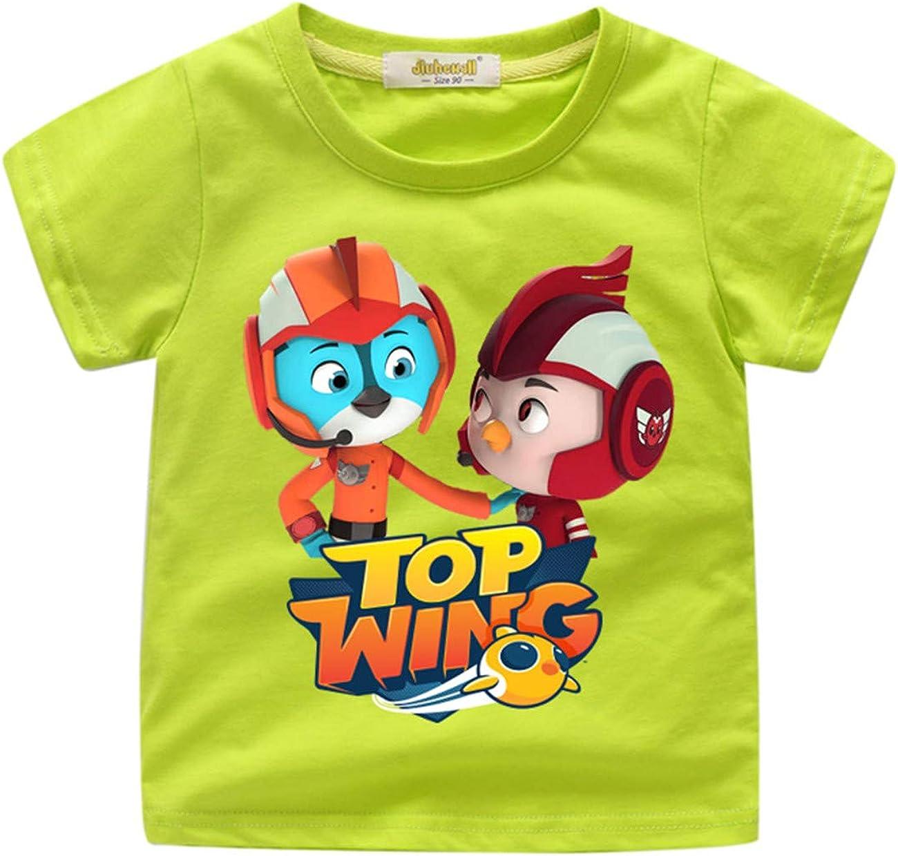 GD-fashion Kids Top Wing Tshirts-100% Soft Cotton Short Shirts Tees-Summer Short Sleeve T-Shirt for Boys Girls