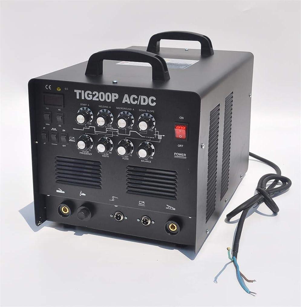 伝染病ほとんどない田舎者単相200V/TIG200P/交流/直流/インバーターTIG溶接機/半年保証付き!インバーター TIG 溶接機 TIG200P パルス溶接 アルミOK! 高機能本格モデル