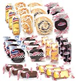 Hostess Variety Pack | Cupcakes, Cinnamon Rolls, Danish, Ding Dongs, Twinkies, Zingers | 30 Count