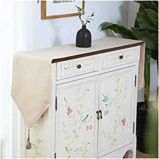 Tischläufer Moderne einfache Baumwolle und Line Tischläufer Fest Farbe Tischdecken for Hochzeitsfest Tabelle decortation 14 Farben erhältlich Deko-Party Color : Khaki, Size : 30x160cm