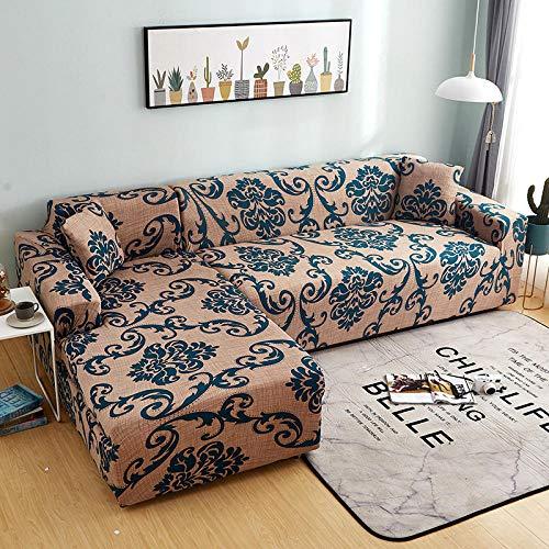 Topashe Funda de Sofá Elástica Punto,Funda de sofá con Todo Incluido, Funda de sofá elástica-A_90-140cm,Sillón Elastano Fundas de Sofá