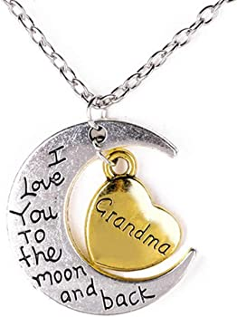 Xeminor Premium I Love You To the Moon and Back Necklace