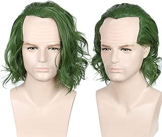 green hair wig joker