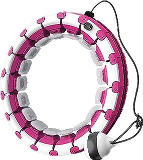 Smart hula hoop fitnessring, kroppsformande ring viktminskningsring, sportring kan masseras runt 360 °, omkrets och vikt k...