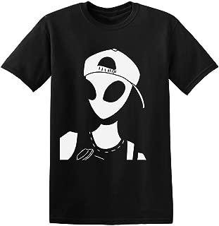 Modern Urban Alien With A Baseball Cap Men's T-Shirt