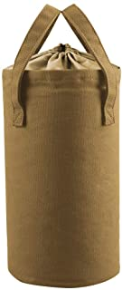 Keepjoy ランタンケース 帆布製 フュアハンドランタン ハリケーンランタン オイルランタン 灯油ランタン対応用収納袋 軽量 ポケット キャンプ アウトドア キャンバスケース