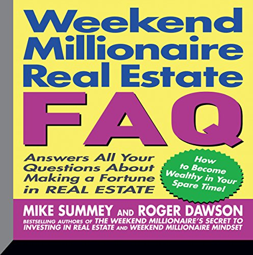 Weekend Millionaire's Real Estate FAQ audiobook cover art